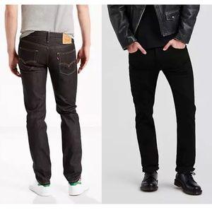 🍂 2 Pair: Levi's 511 slim. 1 Dark, 1 Black. 🍂